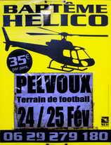 24 février 2010 - Pelvoux - Baptême de l'air en hélicoptère