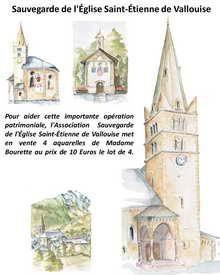 Sauvegarder l'église de Vallouise