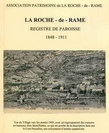 La Roche-de-Rame - Registre de paroisse, 1848 - 1911